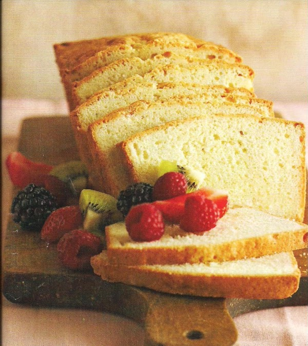 Sour Cream Pound Cake And Variations Recipe