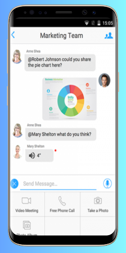 Guide for ZOOM Cloud Meetings screenshot 4