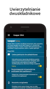 Keeper: Darmowy menedżer haseł i bezpieczny sejf Screenshot