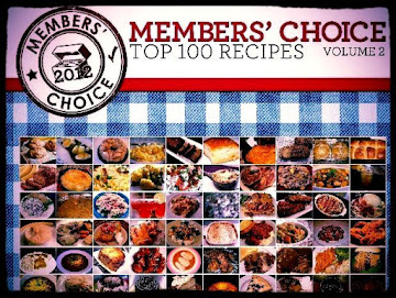 2012 Member's Choice Cookbook Announcement! {Giveaway}