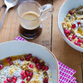 Greek Yogurt Breakfast Bowl.