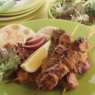 Spicy Pork Kebabs.