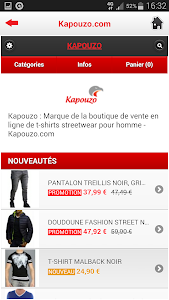Kapouzo Officiel Streetwear screenshot 4