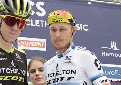 Jasper Stuyven sprint naar podium, maar is in vijfde rit Ronde van Guangxi niet opgewassen tegen Europese kampioen
