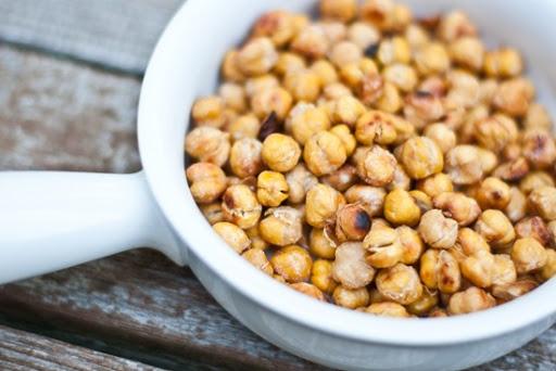 Easy Salt & Vinegar Roasted Chick Peas