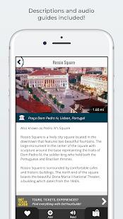 里斯本城市指南,離線地圖,旅遊和酒店