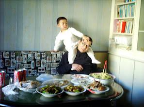 Photo: taming dad.