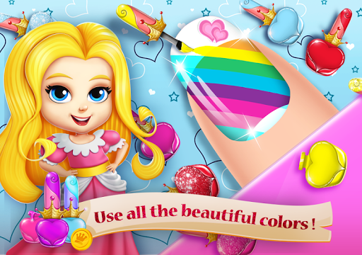 Princess Nail Salon Girls Game - Makeup Beauty Spa 2.1.4 screenshots 1