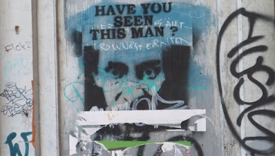 """Photo: Stencil; Unknown Artist; """"Have You Seen This Man?"""""""