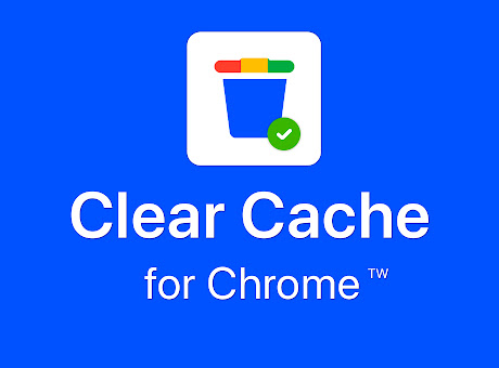 Clear history, Cache & Cookies for Chrome™