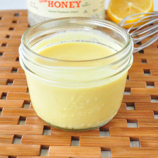 Healthy Honey Mustard Dressing.
