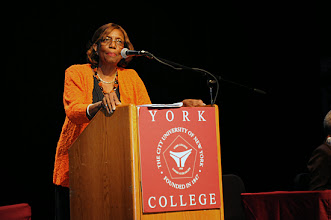 Photo: Dr. Marcia V. Keizs, President of York College/CUNY.