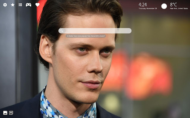 Bill Skarsgard Wallpaper Hd Theme Chrome I Veebipood