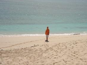 """Photo: on the beach at """"On Da Beach Bar and Grill"""""""