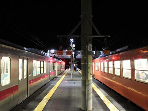 JR津軽線 蟹田駅ホーム