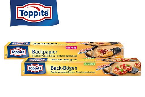 Bild für Cashback-Angebot: Toppits® Backpapier Rolle oder Backpapier Bögen - Toppits