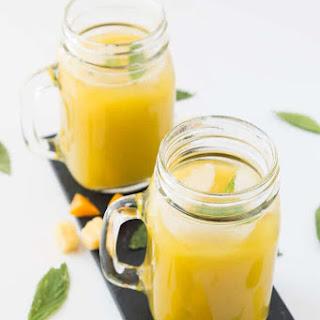 Pineapple Mango Agua Fresca.