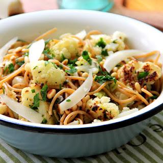 Roasted Cauliflower Pasta
