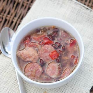 Slow CookerSausage & Chicken Stew {Freezer Pack}