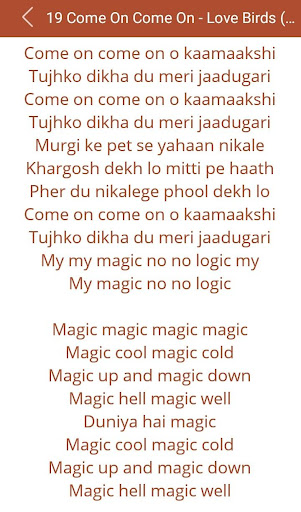 Download Hit Udit Narayan's Songs Lyric Google Play