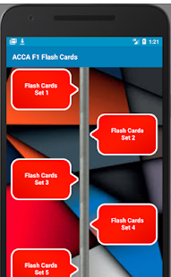 ACCA F1 FLASHCARDS 2018 Ed - náhled