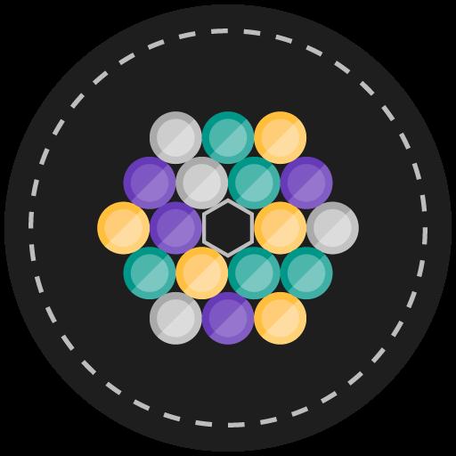 hexatized Bubble Shooter 休閒 LOGO-玩APPs