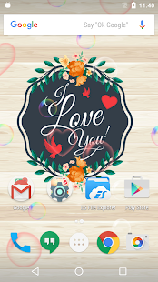 Romantic Love Rose Wallpaper - náhled