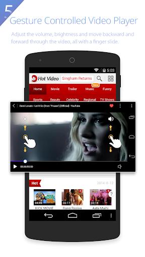 UC Browser HD screenshot 5
