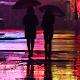 rainy night wallpaper - neon night wallpaper APK