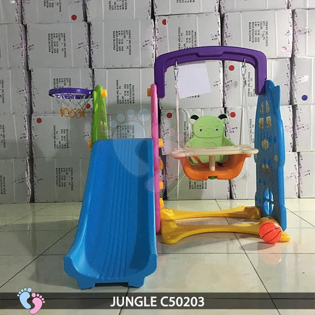 Cầu trượt cho bé 3 in 1 Jungle C50203 1