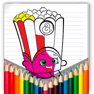 Coloring for Shopkins