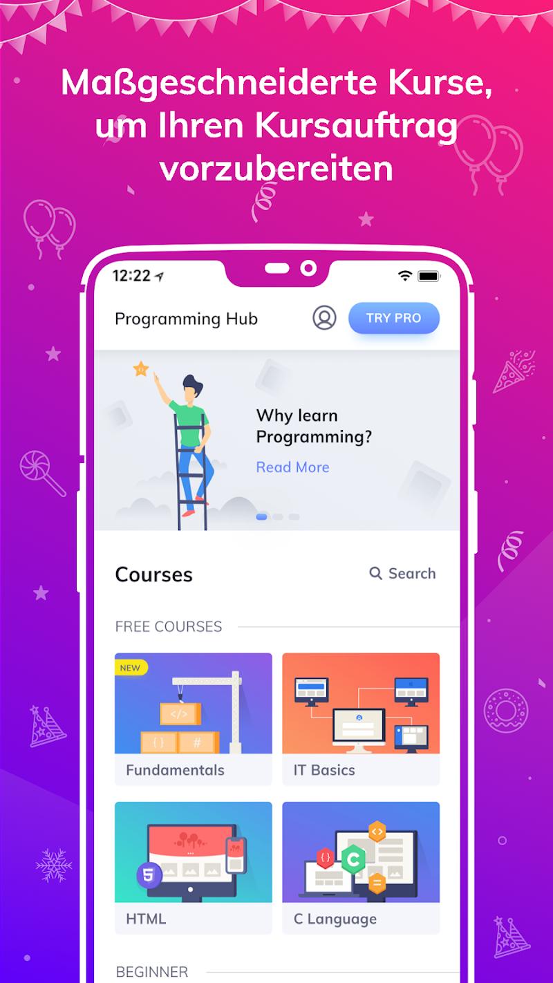 Programming Hub: Learn to Code v5.1.43 [Unlocked] APK [Latest]