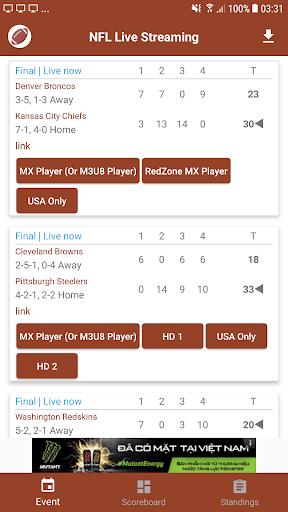 NFL Live Streaming 14 screenshots 1