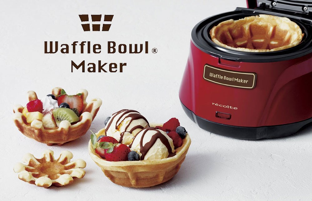 recolte waffle bowl maker by go1buy1