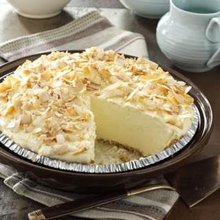 No Bake Coconut Pie