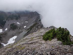 Photo: Nice view back along the ridge