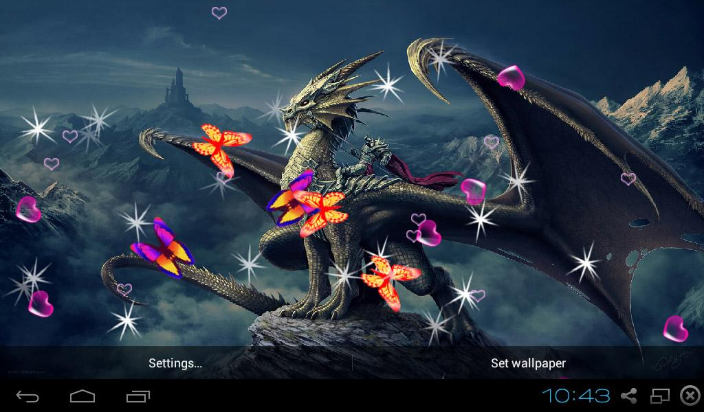 Dragon live wallpapers android apps on google play - Free dragonfly wallpaper for android ...