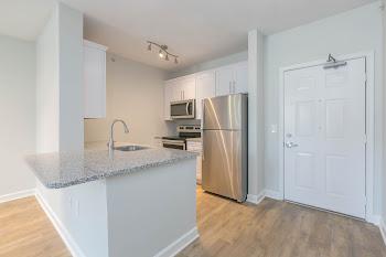 Go to Studio, One Bath Premium Floorplan page.