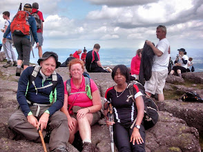 Photo: Sadie (centre) who completed her first Galtee Crossing with Vinny and Alice, Sunday June 29th, 2014