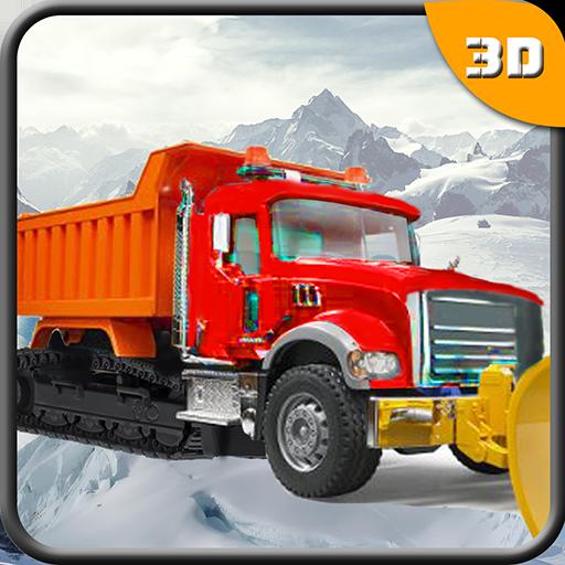 模拟の実際の雪かきトラックシミュレータ LOGO-記事Game