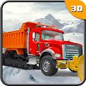 Real Snow Plow Truck Simulator icon