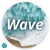Wave - Customizable Lock screen