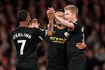 Man City wist doelpunt van Vardy uit en wint duel om de tweede plek van Leicester City