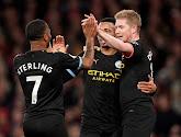 Manchester City blijft druk zetten op de buren van United