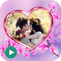Love Video Maker With Music icon