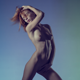 Expression by Dmitry Laudin - Nudes & Boudoir Artistic Nude ( studio, expression, beauty, light, pose, nude, girl )