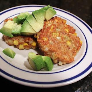 Spicy Cauliflower-Corn Fritters.