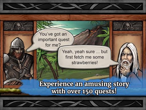 The Paladin's Story: Melee & Text RPG (Offline) apkdebit screenshots 12