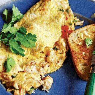 Prawn & Crab Masala Omelette