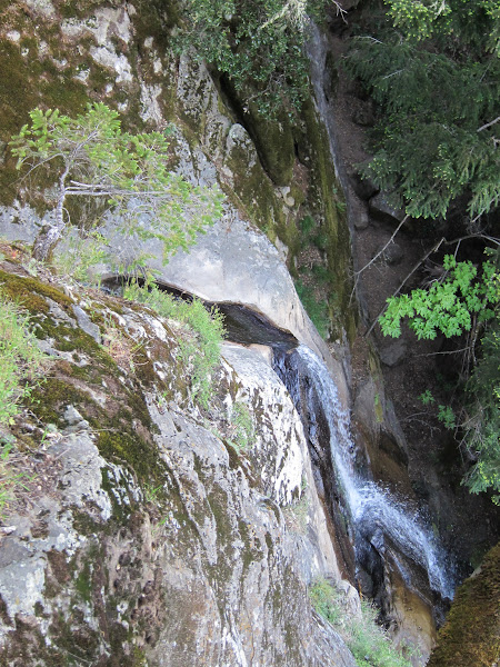 Photo: Castle Rock waterfall from the top